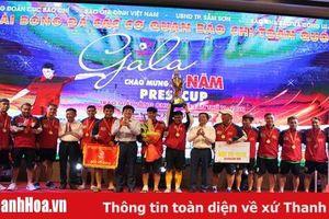 CLB Phóng viên thể thao TP Hồ Chí Minh vô địch Press Cup năm 2020
