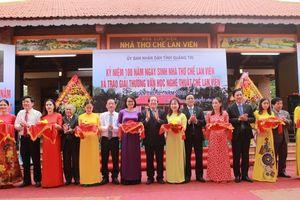 Quảng Trị: Khánh thành công trình Nhà lưu niệm nhà thơ Chế Lan Viên