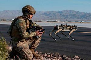 Robot 'siêu khuyển' của quân đội Mỹ: Tuần tra theo lộ trình thiết lập
