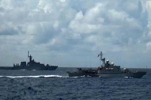 Sức mạnh tàu chiến Thái Lan tuần tra chung cùng Hải quân Việt Nam