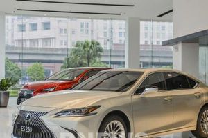 Lexus ES 2021 giá từ 2,54 tỷ đồng: Ngoại hình sắc nét, công suất tối đa 204 mã lực