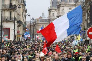 Nhiều cảnh sát Pháp bị thương trong các vụ biểu tình bạo lực