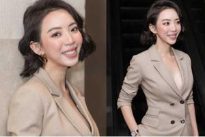 Thu Trang khoe ngực đầy sexy, nhắc chuyện Anh Tú - Châu Bùi đóng 'Chị Mười Ba 2'