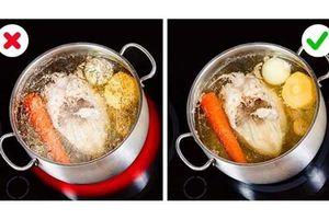 12 mẹo nấu ăn giúp quý ông thành 'siêu đầu bếp'