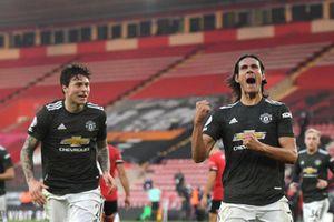 Cavani & Bruno Fernandes chói sáng, M.U ngược dòng kinh điển trước Southampton
