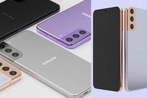 Galaxy S21 lộ thiết kế độc đáo: Camera khác lạ, nhiều màu sắc mới