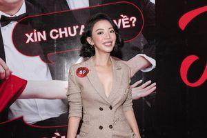 Thu Trang gợi cảm tại sự kiện của 'Tiệc Trăng Máu', chia sẻ việc 'ship' Anh Tú - Châu Bùi trong phim mới