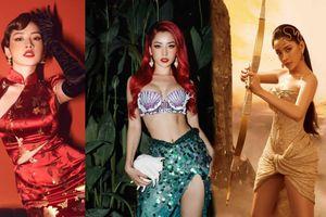 Chi Pu biến hóa đỉnh cao, từ quý cô Trung Hoa đến nữ thần Hy Lạp đều làm fan nổi da gà