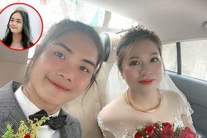 Chú rể 'gây sốt' vì xinh hơn con gái, khiến dân mạng tưởng nhầm đám cưới đồng giới