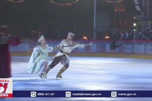 Trượt băng nghệ thuật trên Quảng trường Đỏ tại Nga