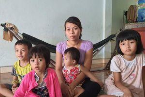 Quảng Bình: Cám cảnh người phụ nữ có chồng bị tai nạn, con gái bị bệnh tim bẩm sinh