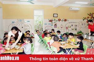 Xây dựng môi trường giáo dục an toàn trong bậc học mầm non ở huyện Đông Sơn