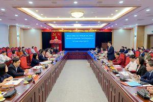 Đoàn công tác tỉnh Quảng Ninh thăm và làm việc tại tỉnh Sơn La