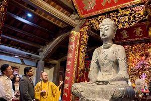 Bắc Ninh : Đại sứ Sri Lanka thăm chùa Phật Tích