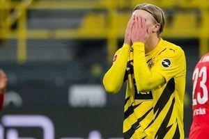 Haaland vô duyên, Dortmund thua cay đắng trên sân nhà