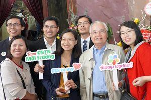Khoa Môi trường-Đại học Khoa học Tự nhiên nhận Huân chương Lao động Hạng Nhất