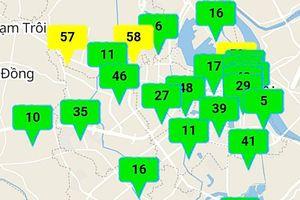 Không khí lạnh tăng cường, chất lượng không khí ở Hà Nội đạt mức tốt