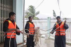 Khánh Hòa: Lực lượng dân quân tự vệ sơ tán 235 hộ, với gần 1.000 nhân khẩu