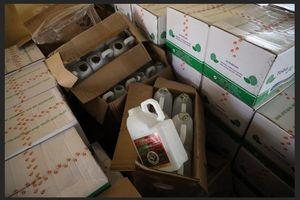Phát hiện cơ sở sản xuất thuốc bảo vệ thực vật trái phép với số lượng lớn