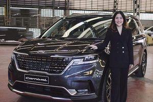 Kia Sedona 2021 bản 11 chỗ, từ 1,64 tỷ đồng tại Thái Lan