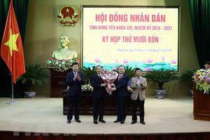 Hưng Yên có tân Chủ tịch Ủy ban nhân dân tỉnh