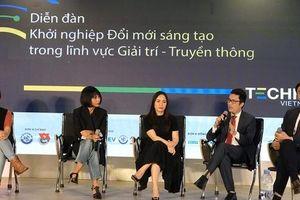 Diễn đàn 'Khởi nghiệp đổi mới sáng tạo trong lĩnh vực Giải trí - Truyền thông