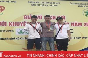 Hà Tĩnh giành 16 huy chương tại giải thể thao người khuyết tật