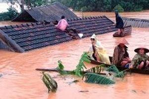Hình ảnh lũ lụt trong thơ Việt