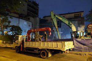 Quả bom phá nặng 340kg tại phố Cửa Bắc đã được hủy nổ an toàn