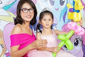Chồng Trang Trần vắng trong sinh nhật con gái