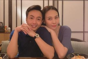 Cường Đô La mừng tuổi mới vợ, Đàm Thu Trang tiết lộ 'món quà khủng' được nhận khiến ai nấy xuýt xoa
