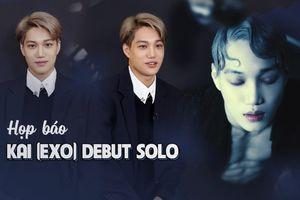Họp báo Debut Solo: 'Tôi là KAI và một KAI (开) tuyệt vời nhất'