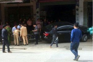 Tài xế ô tô đâm chết 2 cha con ở Thái Nguyên đã đến công an trình diện