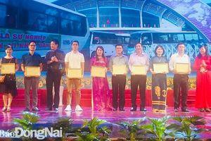 Đồng Nai đoạt 3 huy chương vàng hội thi Tuyên truyền lưu động toàn quốc