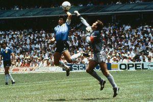 Tranh cãi về 'Bàn tay của chúa' mà Maradona tạo ra ở World Cup 1986