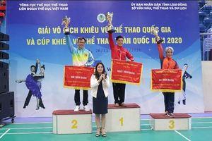 Lâm Đồng tổ chức giải Vô địch Khiêu vũ thể thao quốc gia và Cúp Khiêu vũ thể thao toàn quốc năm 2020