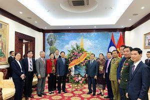 VUFO, Hội Hữu nghị Việt - Lào điện mừng kỷ niệm 45 năm Quốc khánh CHDCND Lào