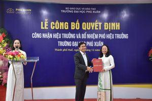 Thêm một nữ hiệu trưởng trường Đại học trong nước được bổ nhiệm