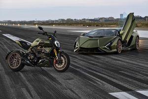 Ducati Diavel 1260 Lamborghini được ra mắt