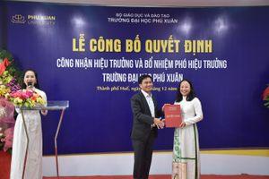 Nữ hiệu trưởng được bổ nhiệm thay ông Đàm Quang Minh