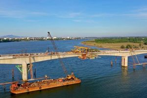 Hoàn thiện cầu Bình Đào và đoạn tuyến nối cầu Cẩm Kim