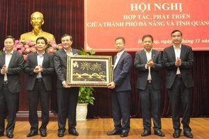 Thúc đẩy hơn nữa mối quan hệ hợp tác, phát triển giữa Đà Nẵng và Quảng Nam