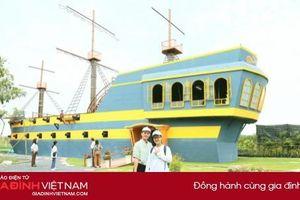 Độc đáo trải nghiệm 'Thuyền buồm Sa Nhiên' tại Làng hoa Sa Đéc - Đồng Tháp