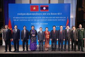 Chiêu đãi nhân kỷ niệm 45 năm Quốc khánh Cộng hòa Dân chủ Nhân dân Lào