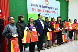 Lãnh đạo Trung ương trao quà ủng hộ khắc phục bão, lũ tại Huế