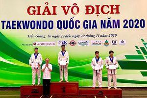 Quảng Ninh giành 4 huy chương Giải vô địch Taekwondo quốc gia 2020