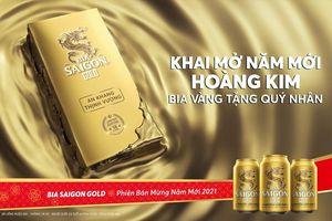 Bia Saigon Gold đến hẹn lại lên