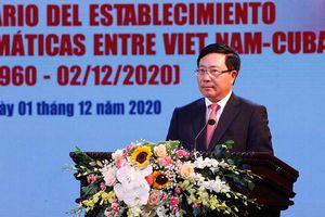 Thúc đẩy mối quan hệ hữu nghị đặc biệt, đoàn kết gắn bó và tin cậy lẫn nhau giữa Việt Nam và Cuba