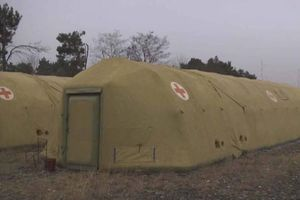 Quân đội Nga triển khai bệnh viện dã chiến ở Nagorno-Karabakh