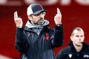 Phản ứng của Klopp khi Liverpool vượt qua vòng bảng